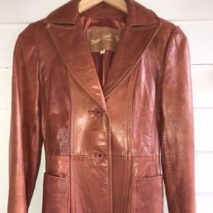 Jackets & Blazers - Vintage leather jacket